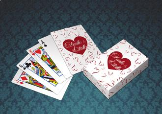 wedding playing cards manufacturer