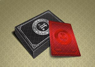 cheap personalized wedding playing cards
