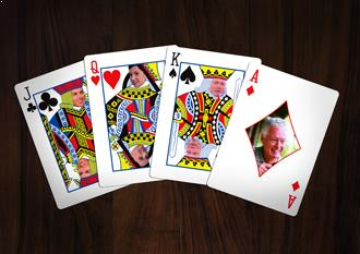 personalized card deck